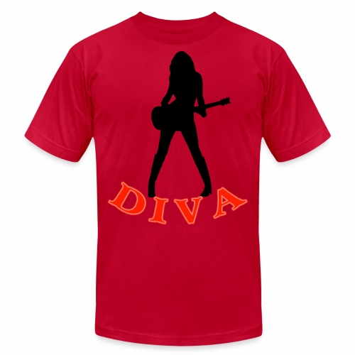 Rock Star Diva - Men's Jersey T-Shirt