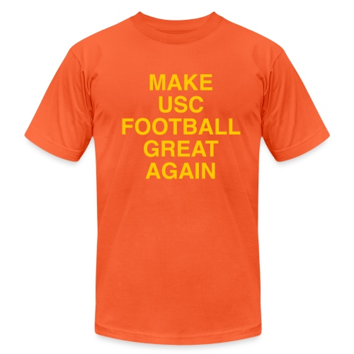 Make USC Football Great Again - Unisex Jersey T-Shirt by Bella + Canvas