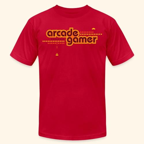 arcadegamer typo - Unisex Jersey T-Shirt by Bella + Canvas
