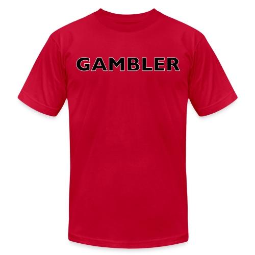 Gambler Gear - Unisex Jersey T-Shirt by Bella + Canvas