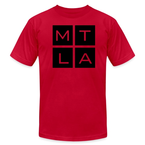 MTLAsq - Unisex Jersey T-Shirt by Bella + Canvas