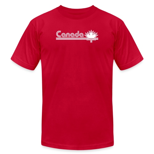 Retro Canada - Unisex Jersey T-Shirt by Bella + Canvas
