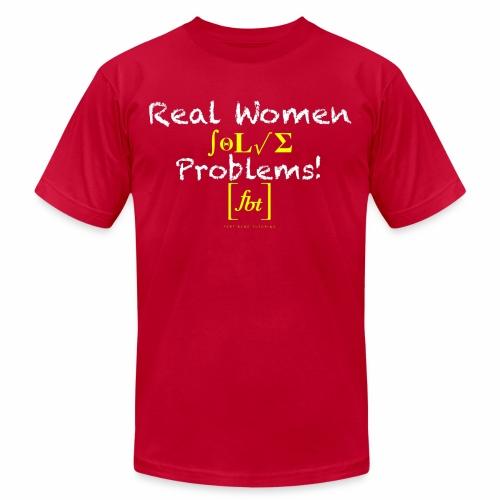 Real Women Solve Problems! [fbt] - Men's  Jersey T-Shirt