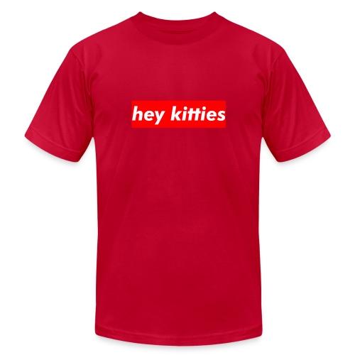 HEY KITTIES - Men's Jersey T-Shirt