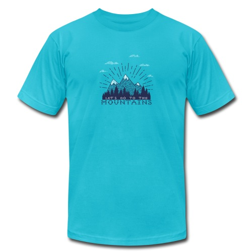 Adventure Mountains T-shirts and Products - Men's  Jersey T-Shirt