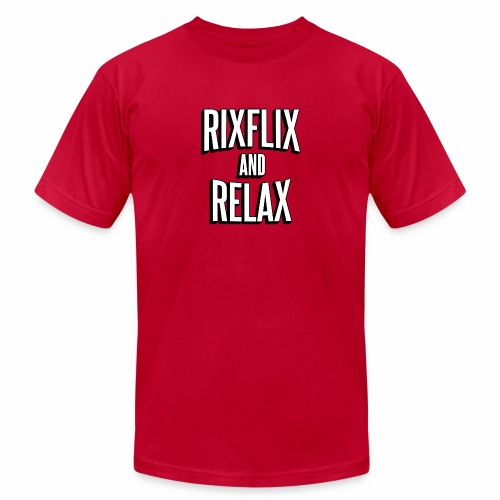 RixFlix and Relax - Unisex Jersey T-Shirt by Bella + Canvas