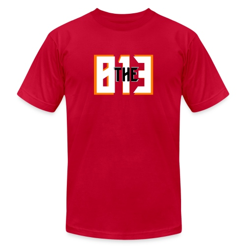The 813 Buccaneer Tee - Unisex Jersey T-Shirt by Bella + Canvas