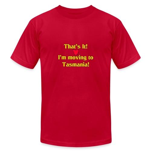 I'm moving to Tasmania - Men's Jersey T-Shirt