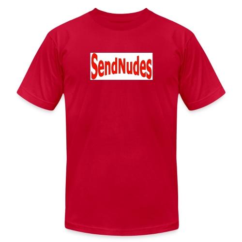 Send Nudes- red - Men's  Jersey T-Shirt
