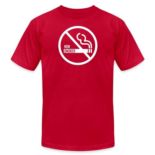 Non Smoker - Unisex Jersey T-Shirt by Bella + Canvas