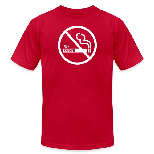 Non Smoker - Unisex Jersey T-Shirt by Bella + Canvas