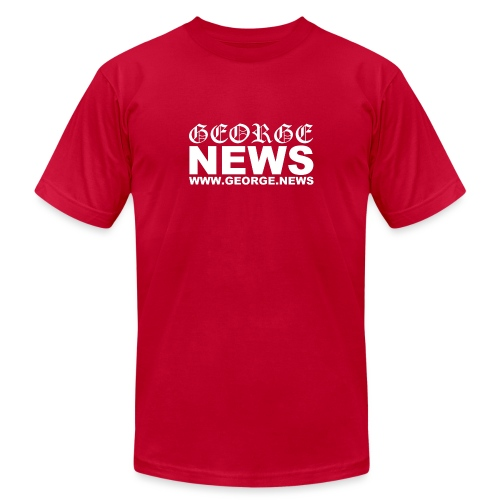 GEORGE NEWS V2 - Unisex Jersey T-Shirt by Bella + Canvas