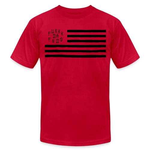 FTf Flag - Unisex Jersey T-Shirt by Bella + Canvas