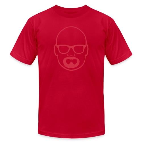 MDW Music official remix logo - Men's  Jersey T-Shirt
