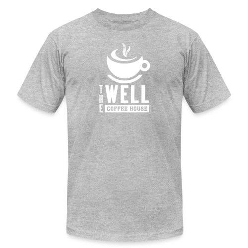 TWCH Verse White - Unisex Jersey T-Shirt by Bella + Canvas