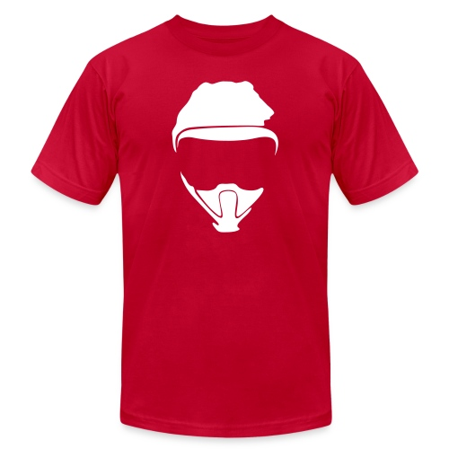 C2W Full Logo - White - Premium Tee - Unisex Jersey T-Shirt by Bella + Canvas