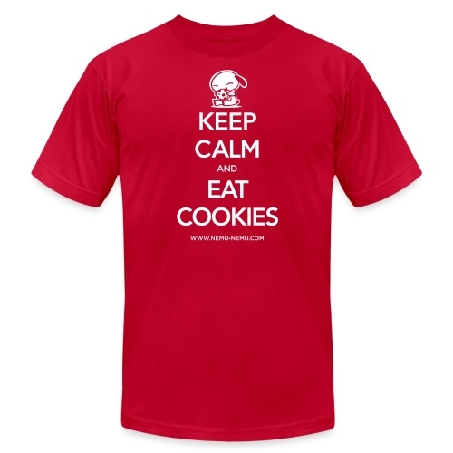 Eat Cookies - Unisex Jersey T-Shirt by Bella + Canvas