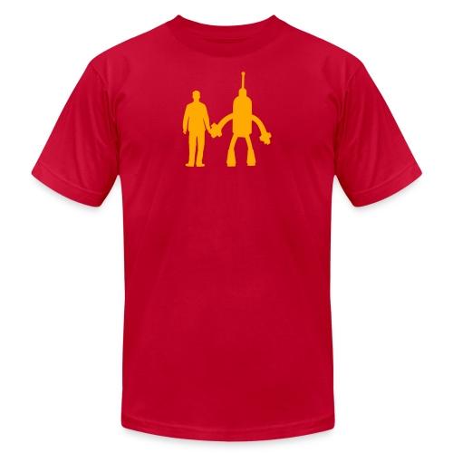 gutsack simple logo - Unisex Jersey T-Shirt by Bella + Canvas