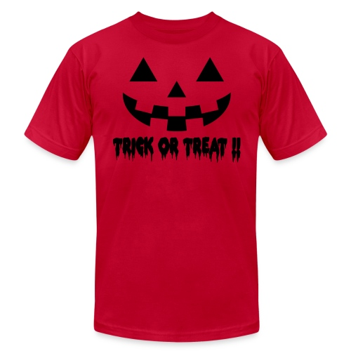 Trick or treat - Unisex Jersey T-Shirt by Bella + Canvas