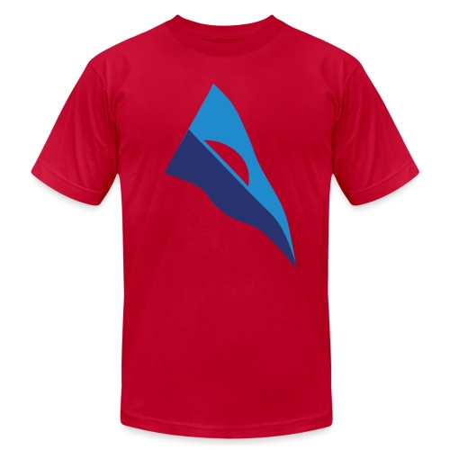 Throwback Burgee - Unisex Jersey T-Shirt by Bella + Canvas