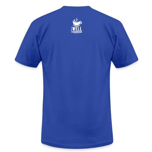 TWCH Verse White back - Unisex Jersey T-Shirt by Bella + Canvas