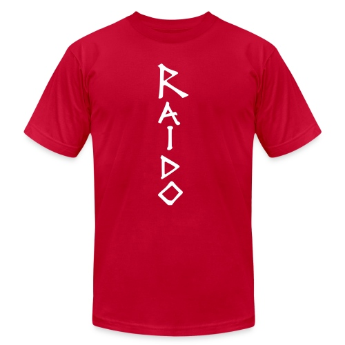 Raido vertical ai - Unisex Jersey T-Shirt by Bella + Canvas