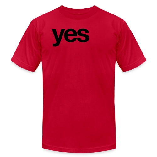 yes x 1 - Unisex Jersey T-Shirt by Bella + Canvas
