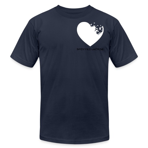 Appaloosa Heart - Unisex Jersey T-Shirt by Bella + Canvas