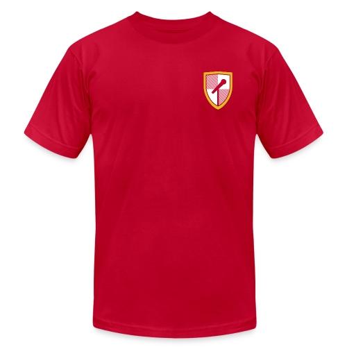 TShirtLogo RedNoBG copy png - Unisex Jersey T-Shirt by Bella + Canvas