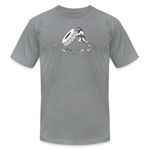 Stone Age Strength - Unisex Jersey T-Shirt by Bella + Canvas