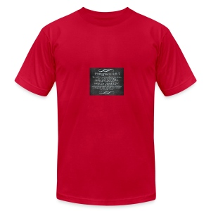 Inspirational Scripture Wear - Men's T-Shirt by American Apparel