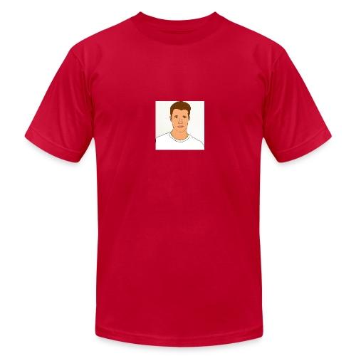Jake Campbell logo - Men's Fine Jersey T-Shirt