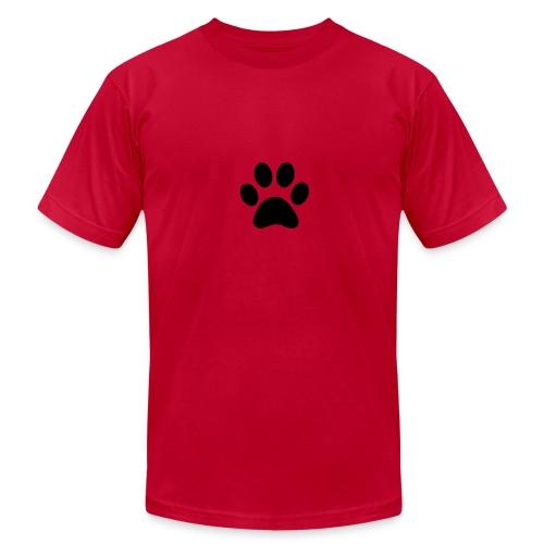 Paw print - Men's  Jersey T-Shirt