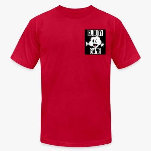 Cloudy Gang (Mens pocket edition) - Men's Fine Jersey T-Shirt