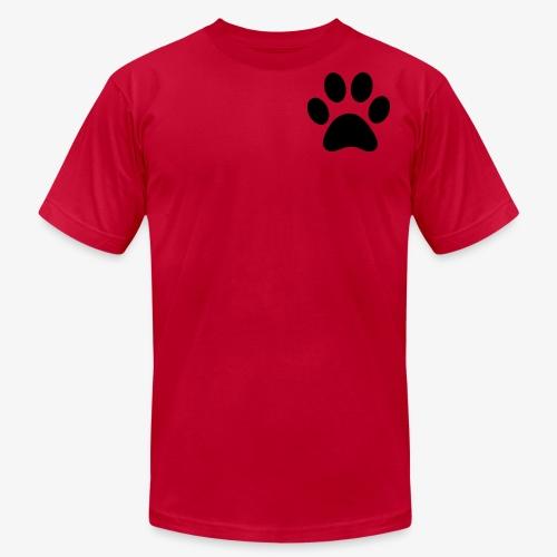 Paw print - Men's Fine Jersey T-Shirt