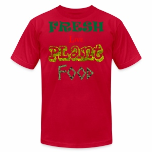 Fresh Live Plant Food - Men's Fine Jersey T-Shirt