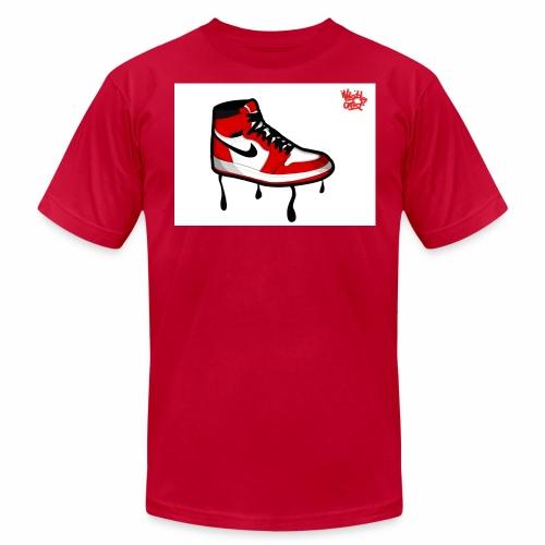 jordan jump man l - Men's Fine Jersey T-Shirt
