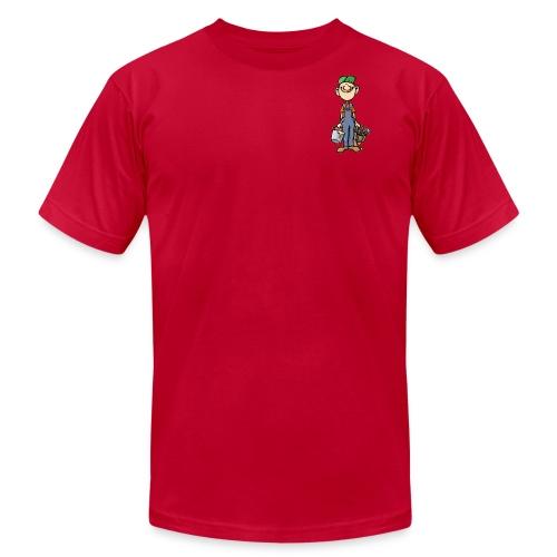 a4 marc logo - Men's Fine Jersey T-Shirt
