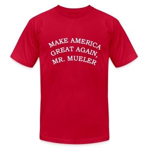 MAKE AMERIICA GREAT AGAIN, MR. MUELLER. - Men's Fine Jersey T-Shirt