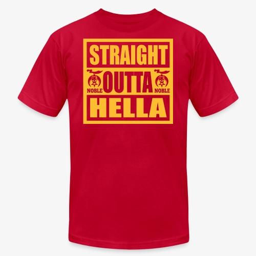 Straight Outta Hella - Men's Fine Jersey T-Shirt