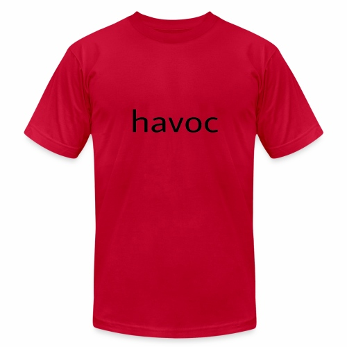 Havoc merch (black) - Men's  Jersey T-Shirt