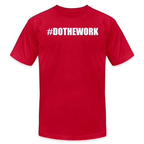 DOTHEWORK TEE - Men's Fine Jersey T-Shirt