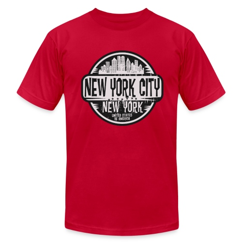 New York City - Men's  Jersey T-Shirt