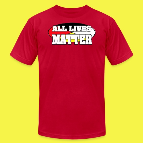 ALL LIVES MATTER - Men's Fine Jersey T-Shirt