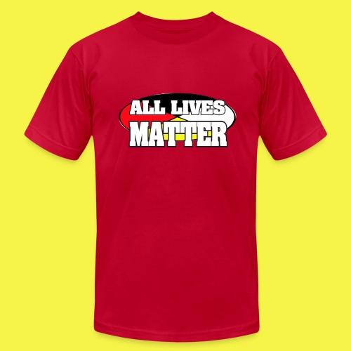 ALL LIVES MATTER - Men's  Jersey T-Shirt
