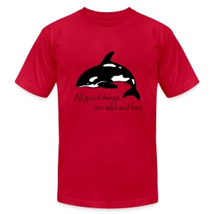 End Captivity - Men's T-Shirt by American Apparel
