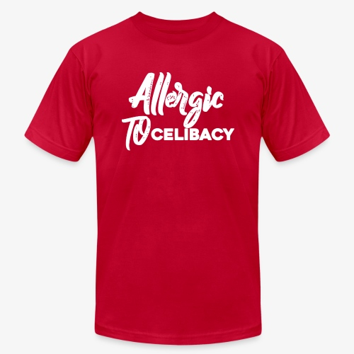 Allergic To Celibacy - Men's Fine Jersey T-Shirt
