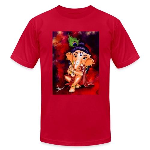 Little Ganesha - Men's Fine Jersey T-Shirt