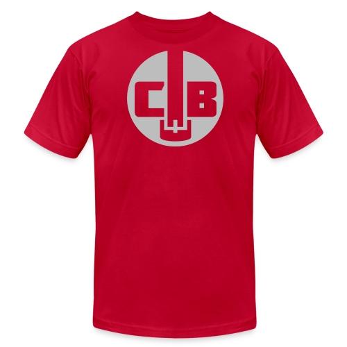 TCB Logo Grey One Color - Men's Fine Jersey T-Shirt
