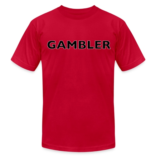 Gambler Gear - Men's Fine Jersey T-Shirt